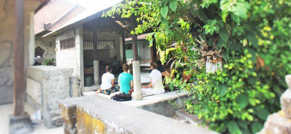 Heiler Pak Choc auf Bali
