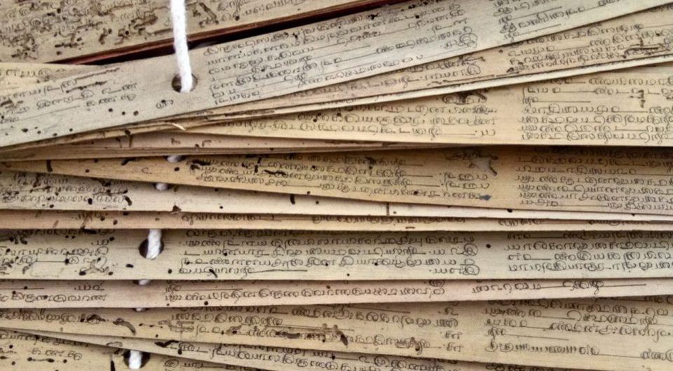 SÜD-INDIEN – Palmblatt-Lesung