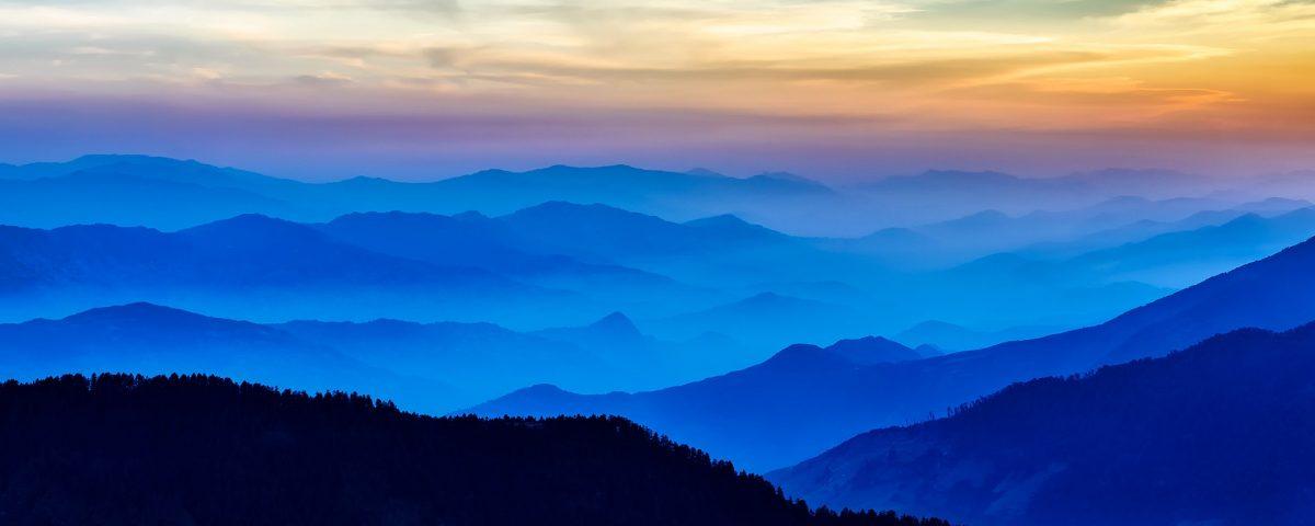 NEPAL Kathmandu Valley Sonnenaufgang